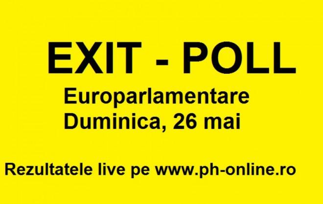 EXIT POLL alegeri europarlamentare 2019