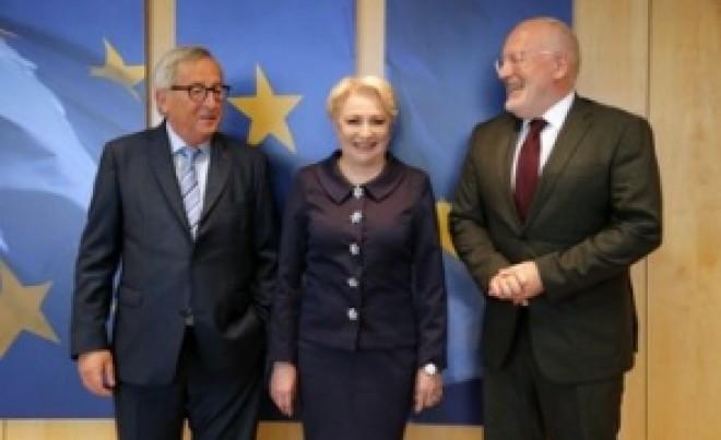 Dancila s-a vandut? A promis ca orice discutie pe justiție în România va porni abia după consultarea în prealabil a Bruxelles-ului