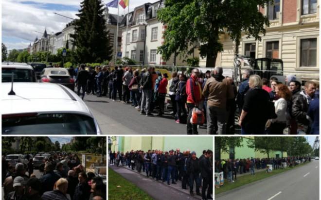 Cum explica MAE haosul de la votul din diaspora: Au existat actiuni coordonate de aducere la vot cu 5-6 autocare