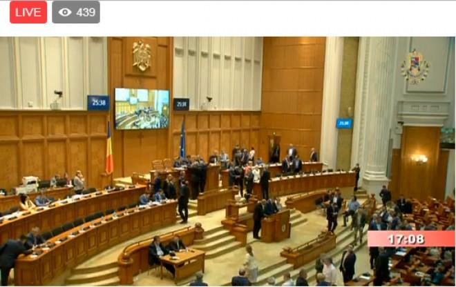 A început votul pentru moțiunea de cenzură: Este unul secret, cu bile - LIVE VIDEO