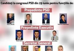 Congres extraordinar la PSD: Toate candidaturile depuse