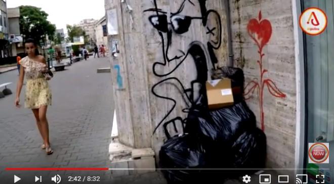 """Ploiesti a devenit """"Gunoiesti"""". Filmarea care arata nivelul la care a ajuns orasul in mandatul PNL-istului Adrian Dobre"""