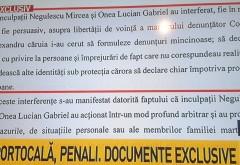 DOCUMENTE BOMBA despre penalii Onea si Portocalã