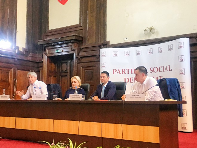 CEx PSD Prahova/ Viorica Dancila, prezenta la Ploiesti