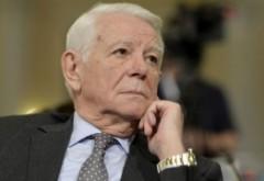 Teodor Melescanu este noul presedinte al Senatului, in locul lui Tariceanu