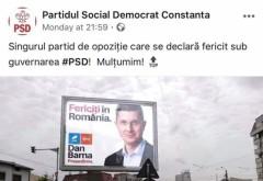 Dan Barna, trolat de PSD Prahova: USR, 'singurul partid de opoziție care se declară fericit sub guvernarea PSD'
