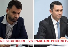 Disputa intre Adrian Dobre (Primaria Ploiesti) si Bogdan Toader (Consiliul Judetean). Unul vrea magazine si buticuri, celalalt, parcare pentru pacienti si apartinatori, la Judetean