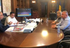 Întâlnire între deputatul PSD de Prahova Laura Moagher și ministrul Transporturilor, pe tema proiectelor de infrastructură din județ