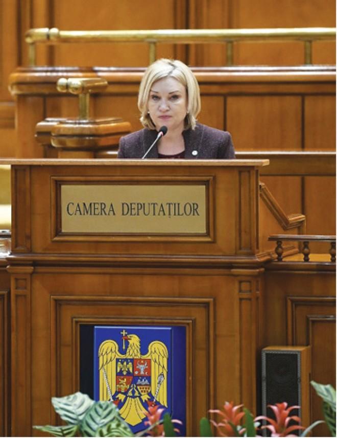 "Rodica Paraschiv, deputat PSD Prahova: ""Presedintele part-time"""