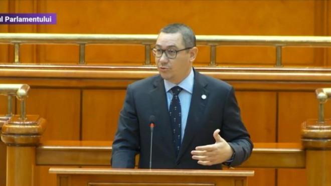 Ca huliganii! Victor Ponta a îmbrâncit un deputat PSD care șușotea cu parlamentarii Pro Europa