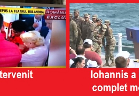 Dăncilă versus Iohannis. Premierul i-a acordat primul ajutor unui bărbat care a leșinat la un miting electoral. Iohannis l-a ignorat pe militarul lesinat