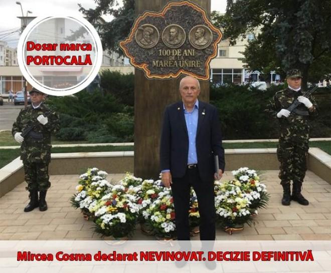 """Dosar marca """"Portocala"""": Mircea Cosma, declarat nevinovat! Decizie definitiva / DOCUMENT"""