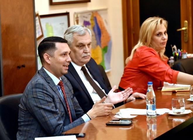 Noi investitori in judetul Prahova. Bogdan Toader a primit, astazi, o delegatie din Macedonia de Nord