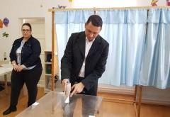 Presedintele PSD Prahova, Bogdan Toader, a votat azi, la Ploiesti