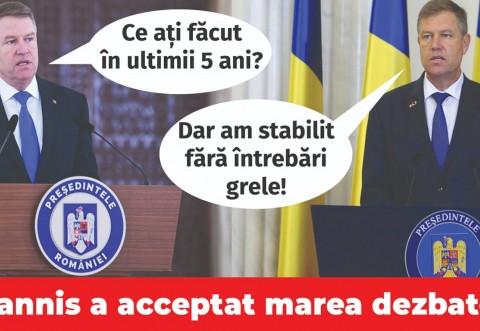"""Acuzaţii explozive: Iohannis are """"postaci si raportaci"""" pe Facebook"""