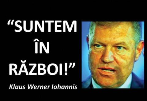 Klaus Werner Iohannis, un cetăţean care urăşte jumătate de ţară!