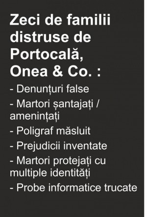 """Judecatorii din Prahova fac dreptate. Dosarele cu probe false deschise de """"Portocala"""", desfiintate unul cate unul"""