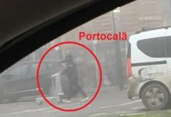 Portocalã, surprins camuflat pana in dinti, sa nu fie recunoscut pe strada! Obiectul controversat cu care a iesit din Bricodepot