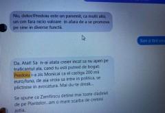 NUCLEARA/ Sorina Matei publică mesaje de la Cristina Guseth: 'Predoiu este un parvenit, ca mulţi alţii, un om fără nicio valoare'