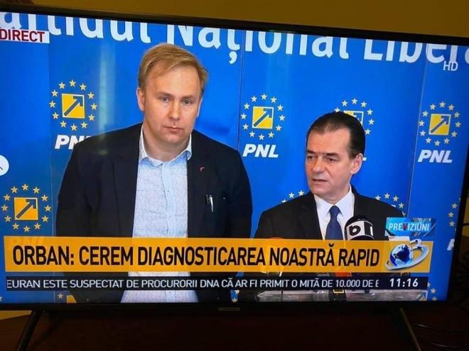 Ati mai intalnit undeva atata PROSTIE si NESIMTIRE? Suspect de COVID19, Orban tine conferinte de presa si cere ca statul sa asigure PNL-istilor DIAGNOSTICARE RAPIDA