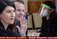 Ministrul Violeta Alexandru, protejată mai bine decît medicii