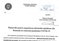 Doamne fereste! Ministrul Costache considera ca spitalele din Romania sunt MAI EFICIENTE decat cele din Italia sau Franta