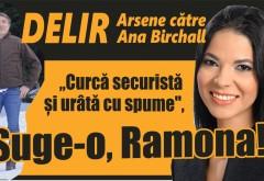 """Ionel Arsene și Ana Birchall, scandal teribil în politica din românia! """"Curcă securistă și urâtă cu spume"""" vs """"exemplu de grobianism"""""""