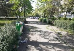Ploiestiul fara primar/ Mizerie de nedescris într-un parc din Ploiești