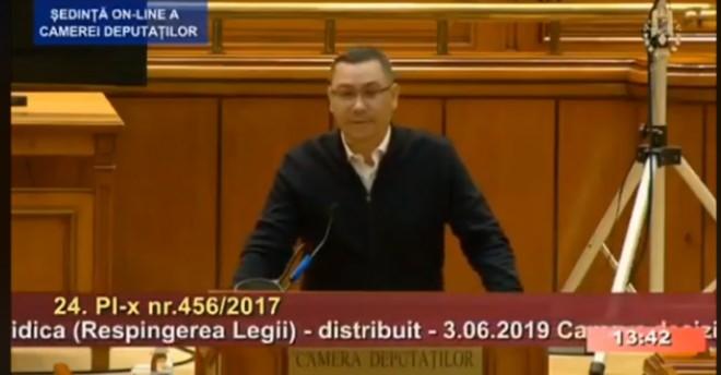"""Victor Ponta condamna abuzurile lui Onea&Portocala, in Parlament. """"Îmi vine să vomit. Vreți să-i facem o statuie lui Portocală în Parlament?"""""""