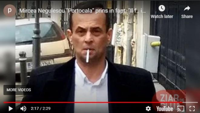 """INREGISTRARE BOMBA/ Mircea Negulescu """"Portocala"""" loveste din nou: """"Nu vreau decat sa vad sange, atat! Il f... in gura!"""""""