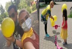 Liberalii, in campanie electorală. Umflă baloanele cu gura și le dau copiilor. Precauti sau prosti?