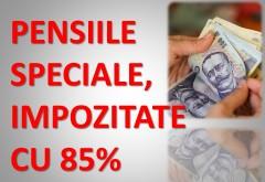 Rodica Paraschiv, deputat de Prahova: PSD a propus și vom vota astăzi în Parlament impozitarea drastică, cu 85%, a pensiilor speciale!