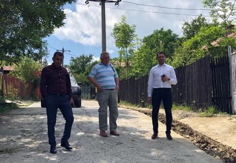 Comuna Telega va fi racordata la reteaua de alimentare cu gaze naturale. Bogdan Toader, in vizita de lucru pe santier