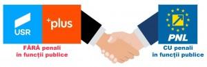 Alianța PNL + USR-PLUS = Interese electorale mai presus de principii