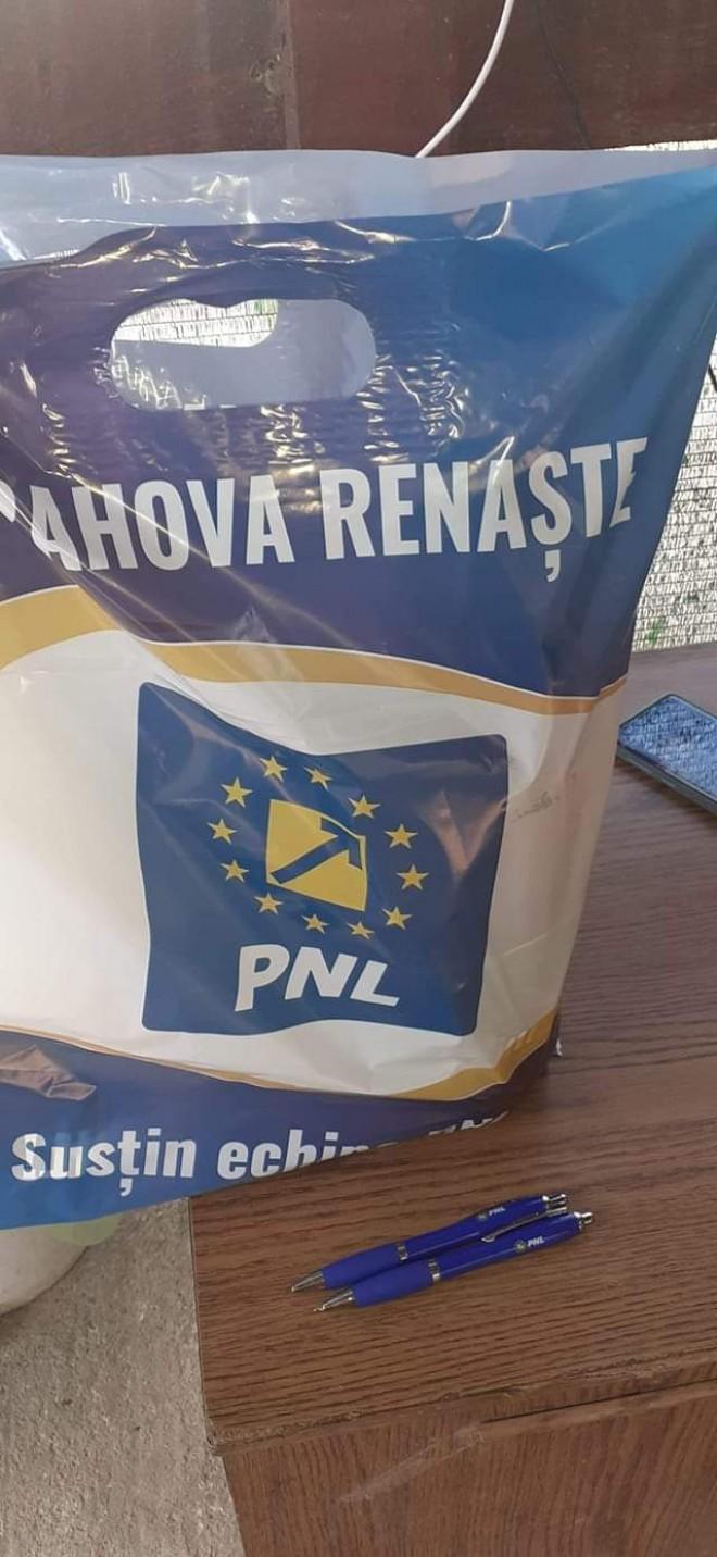 "Operatiunea ""sacosa electorala"", in comuna prahoveana Baba Ana"