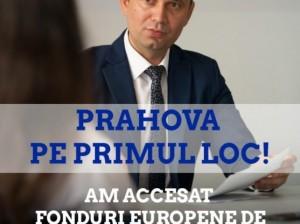 Bogdan Toader: Prahova este LIDER regional în absorbția de fonduri europene, cu peste 150 de milioane de euro atrase de la Uniunea Europeană!