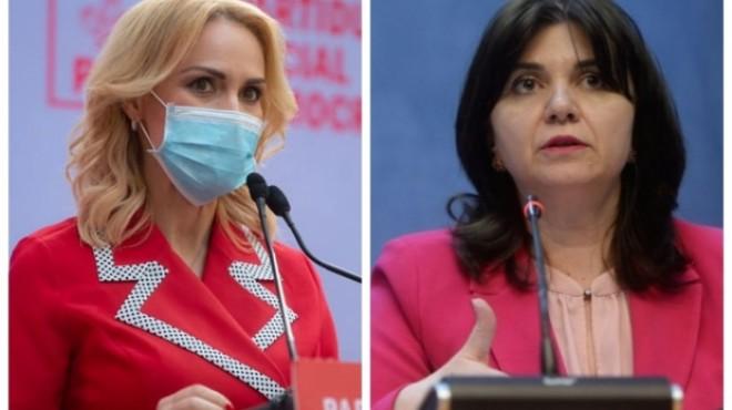 """Gabriela Firea, acuzaţii grave la adresa Monicăi Anisie: """"A dat ordin inspectoratelor şcolare să nu colaboreze cu noi"""""""