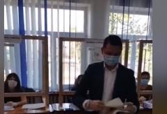 Bogdan Toader a votat la Blejoi. Mesajul sau, la iesirea de la urne
