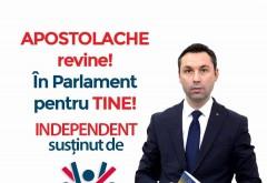 Mihai Apostolache, fondatorul partidului Prahova in actiune, candideaza INDEPENDENT la parlamentare