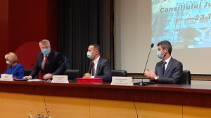 Ceremonia de investire in functie a conducerii CJ Prahova si a consilierilor judeteni