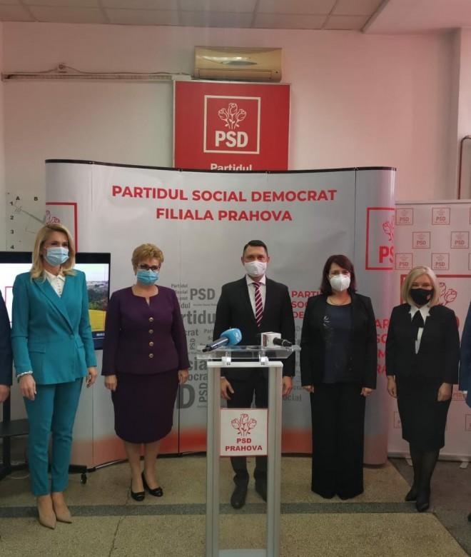 Conferinta PSD Prahova/ Lansarea candidatilor la alegerile parlamentare
