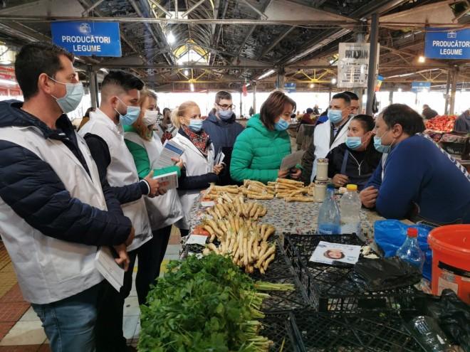 PMP Prahova solicita Guvernului ca pietele sa ramana deschise