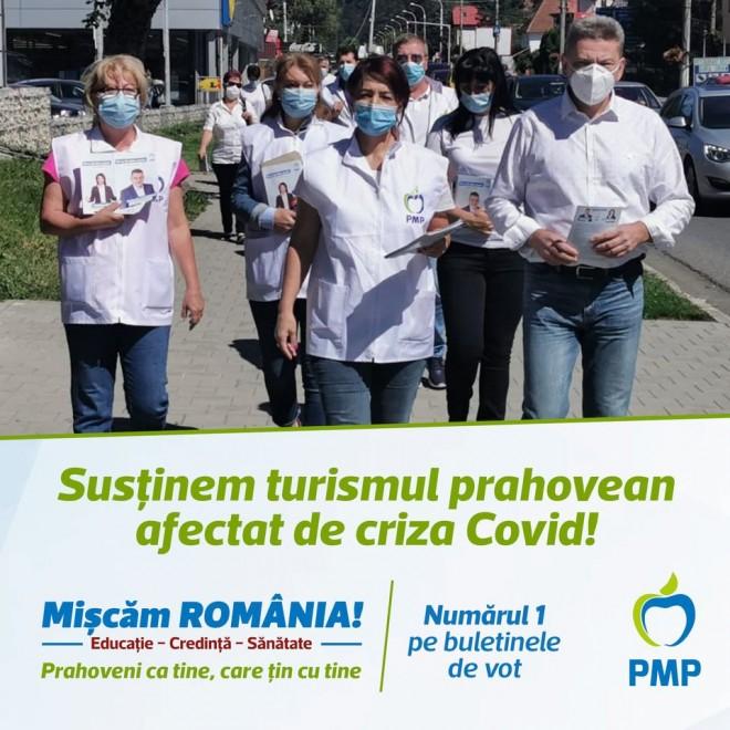 "PMP Prahova : "" Sustinem turismul prahovean afectat de criza Covid!"""