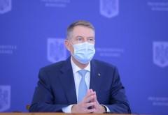 Klaus Iohannis: Până în vară sperăm să ieșim din pandemie