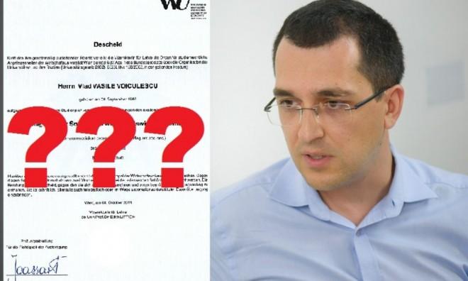 Ministerul Educaţiei poate să echivaleze diploma, nu adeverinţa lui Voiculescu