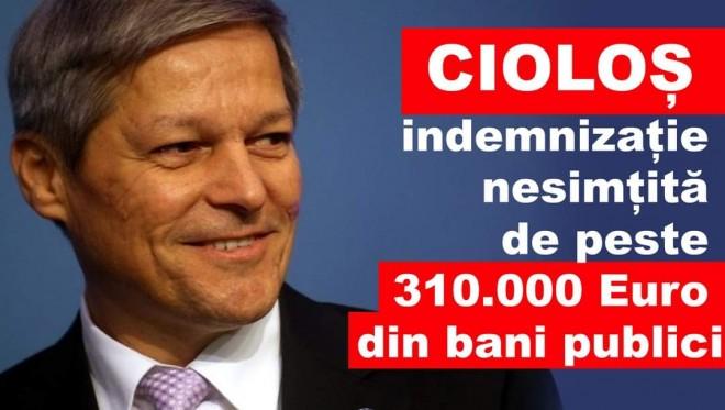 Dacian Cioloș a primit 310.000 Euro din bani publici, fara sa faca nimic! Acum explica romanilor ca pensiile speciale sunt rele!