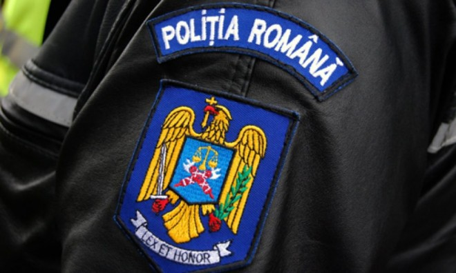 Protest cu scandal la Cotroceni. Politistii veniti sa-si ceara drepturile s-au imbrancit cu jandarmii!