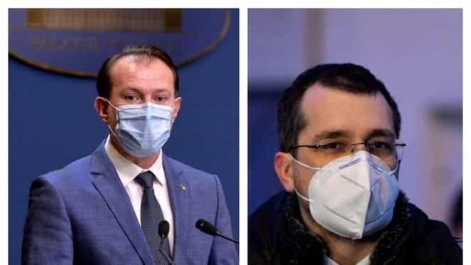 Ruptură în coaliţia de guvernare: Vlad Voiculescu, suparat pe Cîțu, după ce premierul ar vrea să trimită corpul de control la Ministerul Sănătății