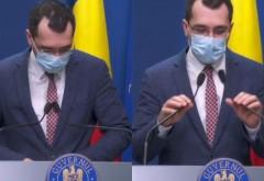 Asta e sanatos la cap? Vlad Voiculescu, criză de râs în momentul anunțării noilor restricții pentru români