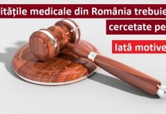 Acestea sunt lucrurile pentru care autoritățile medicale din România ar trebui cercetate penal…